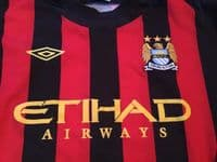 Classic Football Shirts   2011 Manchester City Vintage Old Soccer Jerseys